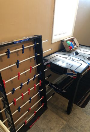Air hockey -foosball-tennis table SMALL for Sale in Bloomfield, NJ
