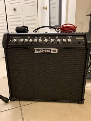 Line 6 Spider IV 75 Watt Amp and Line 6 FBV Express MK II Footswitch for Sale in Miami, FL