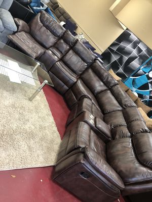 Furniture sectional El Rio furniture finance available down payment $39 1456 belt line rd suite 121 Garland tx 75044 Open from 9:30-8:30 for Sale in Garland, TX