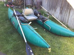 Bronco Extreme Pontoon Boat, 11' tubes for Sale in Meridian, ID