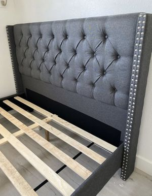 New Queen Frame and Mattress for Sale in Anaheim, CA