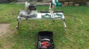 2 miter saw and circular saw for Sale in Galloway, OH