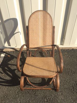 Pair of Vintage Thonet Style Bentwood Rocker/ Rocking Chair for Sale in East Haven, CT