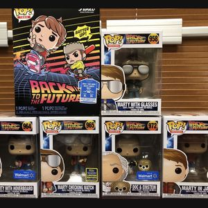 Back To The Future Funko Pop Lot Exclusives SDCC Walmart for Sale in Weston, FL