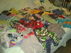 BABY BOY CLOTHES size 9-18 months selling the lot only $80 FIRM!!!!!!!!!!! for Sale in Las Vegas, NV