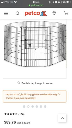 Pet Exercise Pen for Sale in Steilacoom, WA