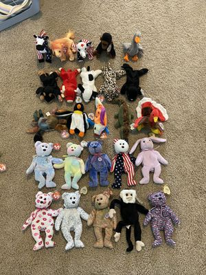 400+ Beanie Babies with tags!! for Sale in Bonney Lake, WA