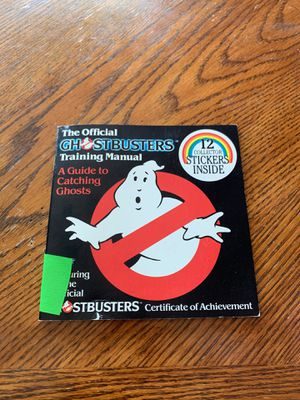 Ghostbusters training book for Sale in Pasco, WA