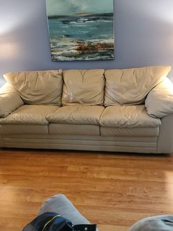 Beige Couch, Loveseat, And Recliner for Sale in Clearwater,  FL