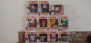 Funko Pop! Dragon Ball Z Lot for Sale in Clovis, CA