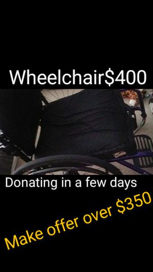 Wheelchair used $400 for Sale in Modesto, CA