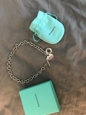 Tiffany Heart Tag Necklace for Sale in Zephyrhills, FL