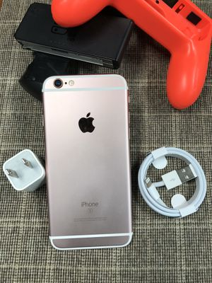 64Gb - iPhone 6s - Rose Gold(Pink) - Factory Unlocked. for Sale in New York, NY