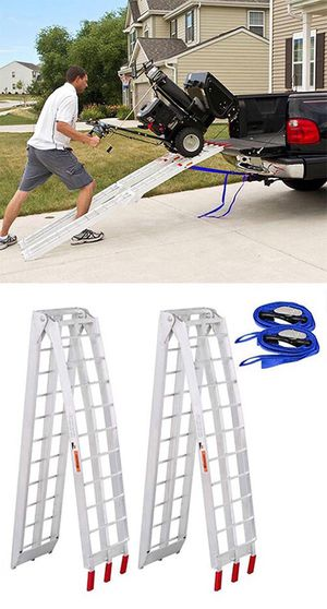 Brand New $115 Pair Aluminum Motorcycle Ramp 7.5 ft for Sale in South El Monte, CA