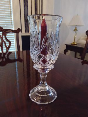 Crystal Hurricane Candle for Sale in Overland Park, KS