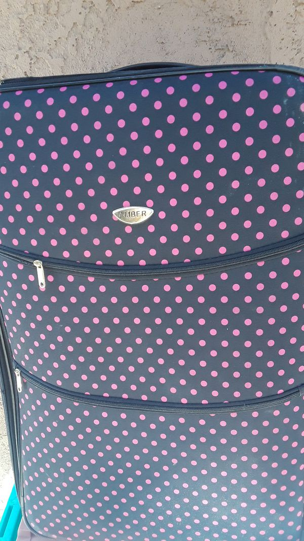 An Amber luggage