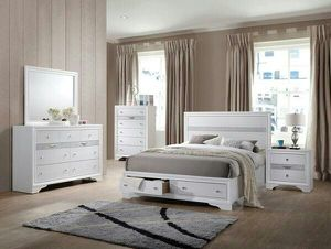 Brand new queen size bedroom set with mattress $759. for Sale in Miami Gardens, FL