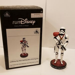Run Disney Star Wars Half Marathon 2018 Stormtrooper Figurine for Sale in Orlando, FL