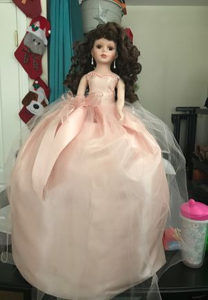 Porcelain quince doll for Sale in San Bernardino, CA