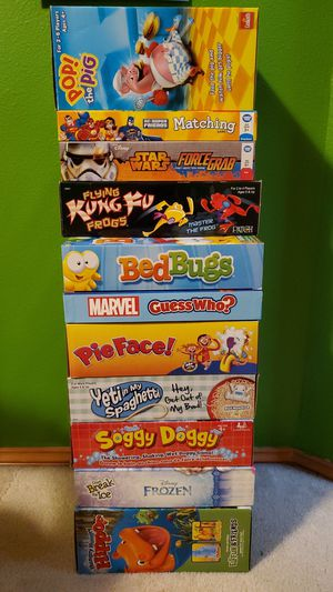 Children's board games 5 dollars each obo for Sale in Bonney Lake, WA
