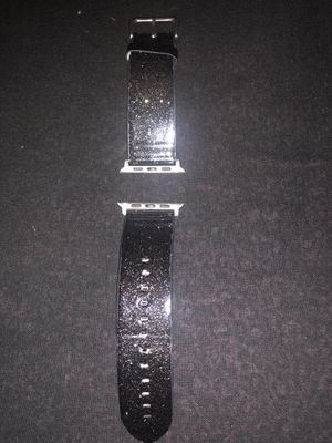 Black glitter Apple Watch band 3/4 series for Sale in Yucaipa, CA
