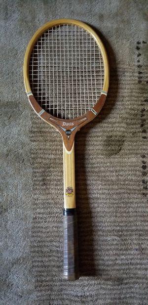 Vintage Wooden Tennis Racket for Sale in Denver, CO