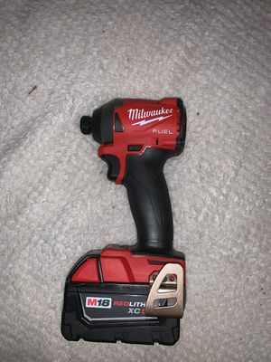 Milwaukee m18 impact drill for Sale in Sherman, TX