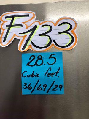 F 133 BEAUTIFUL REFRIGERATOR FRENCH DOOR SSTEEL KENMORE ELITE EASY ACCESS for Sale in Los Angeles, CA