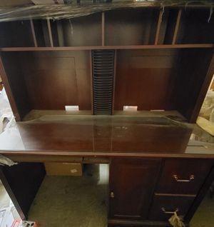 Office desk in cherry wood for Sale in Bakersfield, CA