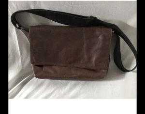 Jack Spade Mens Mill Leather Field Messenger Bag - Brown Preowned 14x11 for Sale in Tamarac, FL