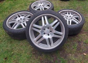 20inch Brabus Mercedes Benz wheels ( amg ) for Sale in Federal Way, WA