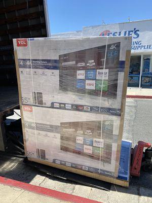 65 INCH TCL ROKU SMART 4K BRAND NEW HUGE SALE TVS for Sale in Alhambra, CA