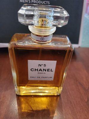 Chanel no 5 eau de parfume 3.4 oz perfume for Sale in San Bernardino, CA