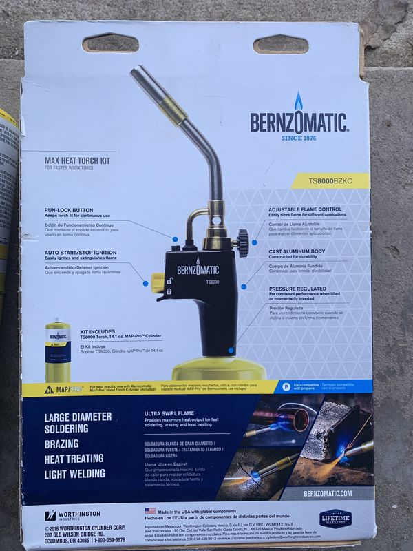 Bernzomatic Premium Trigger-Start Torch Kit for Sale in Starkville, CO -  OfferUp