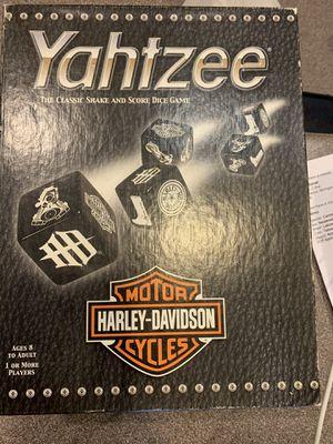Harley Davidson Yahtzee for Sale in Kalamazoo, MI