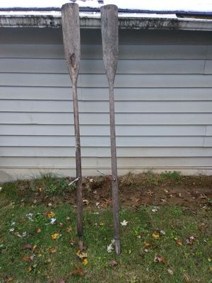 $20 old boat oars for decoration for Sale in Elsberry, MO