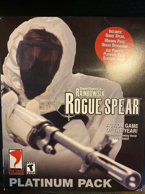 Tom Clancy's Rainbow Six Rogue Spear pc game for Sale in Olympia, WA