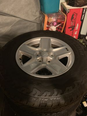 Jeep Gladiator Sport S Wheels and Tires for Sale in Vista, CA