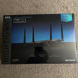 Netgear Nighthawk Wifi Router for Sale in Baltimore, MD