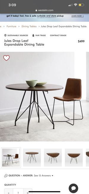 West Elm Jules dining table for Sale in Orlando, FL