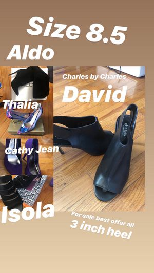 3 inch heels size 8.5 for Sale in Los Angeles, CA