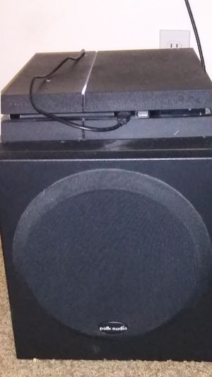 Polk Audio Powered Sub-Woofer Model #PSW250 for Sale in Brier, WA