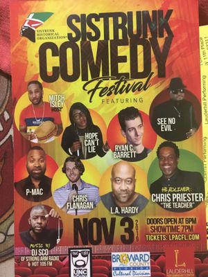 Sistrunk Comedy for Sale in Lauderdale Lakes, FL