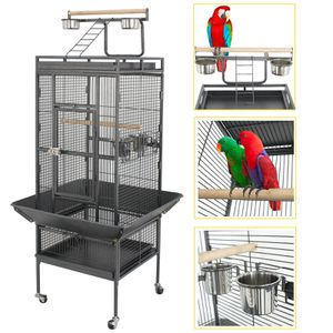 "61"" Large Play Top Bird Cage for Parrot, Finch, Macaw & Cockatoo for Sale in Whittier, CA"
