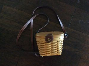 Longaberger Basket small purse for Sale in Georgetown, TX