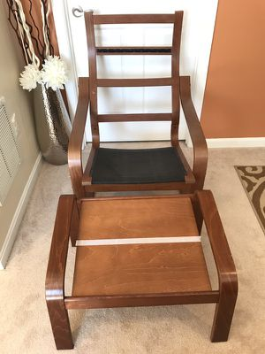 IKEA Poang chair and ottoman ** Make and offer ** for Sale in Bristow, VA