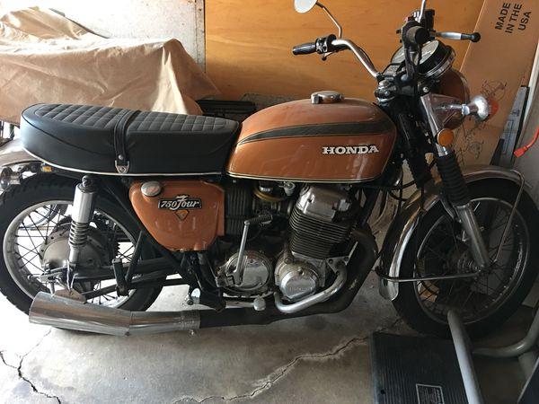 1972 Honda 750 four