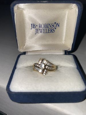 Yellow gold wedding ring for Sale in Newark, OH