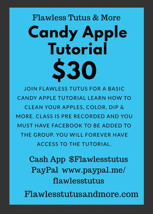 Candy Apple 🍏 Tutorial for Sale in TEMPLE TERR, FL