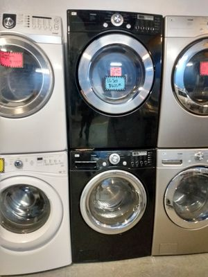 LG front load washer and dryer set working perfectly for Sale in Baltimore, MD